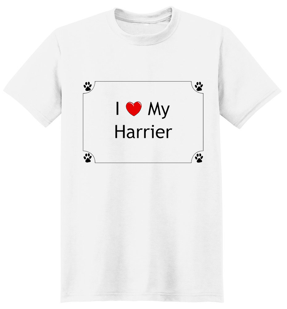 Harrier T-Shirt - I love my