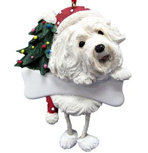 Havanese Christmas Tree Ornament - Personalize