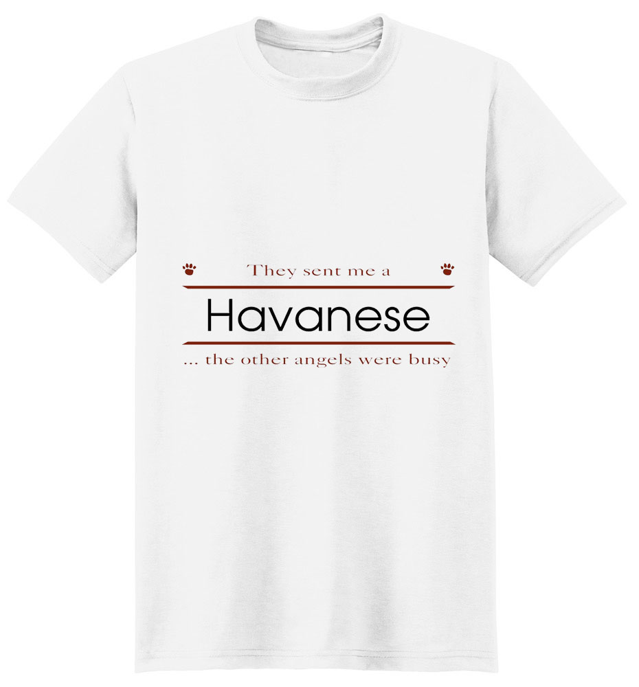 Havanese T-Shirt - Other Angels