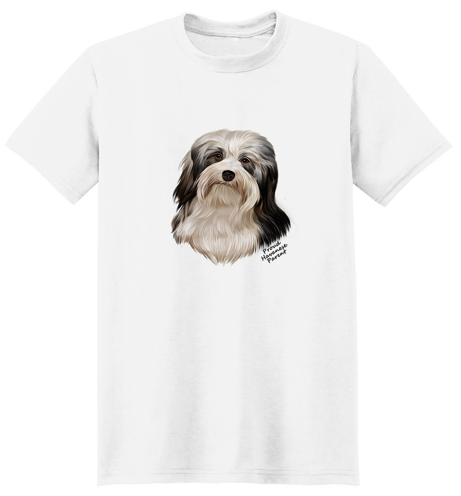 Havanese T Shirt - Proud Parent