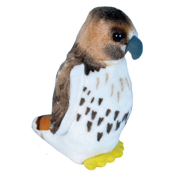 Audubon II Red-tailed Hawk Stuffed Animal with Sound - 5