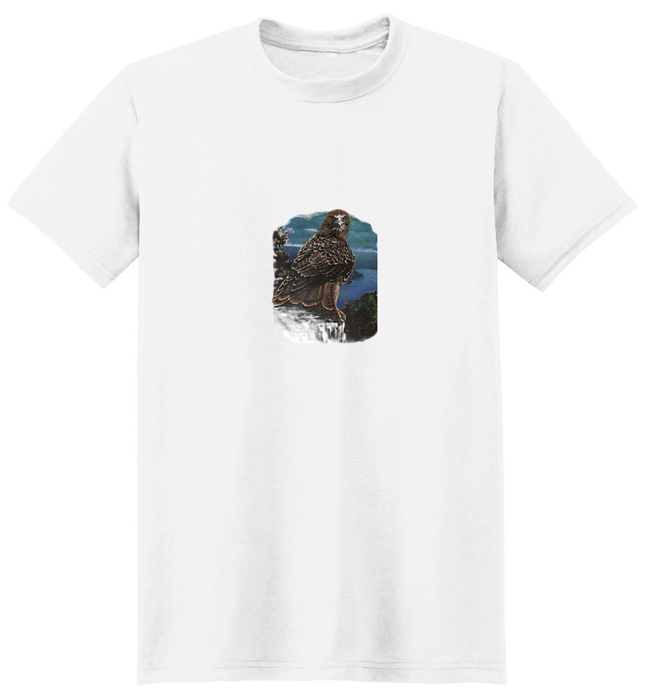 Hawk T-Shirt - Full Color Depiction