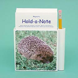 Hedgehog Hold-a-Note