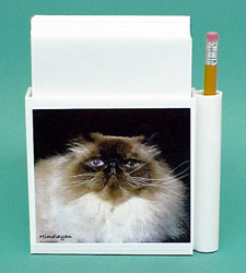 Himalayan Cat Hold-a-Note