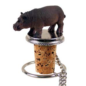 Hippopotamus Bottle Stopper