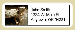 Horned Toad Address Labels