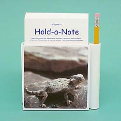 Horned Toad Hold-a-Note