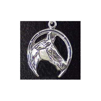 Horse Sterling Silver Charm