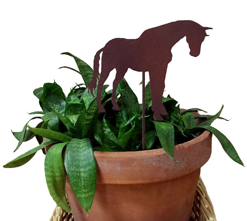 Horse Plant Stake
