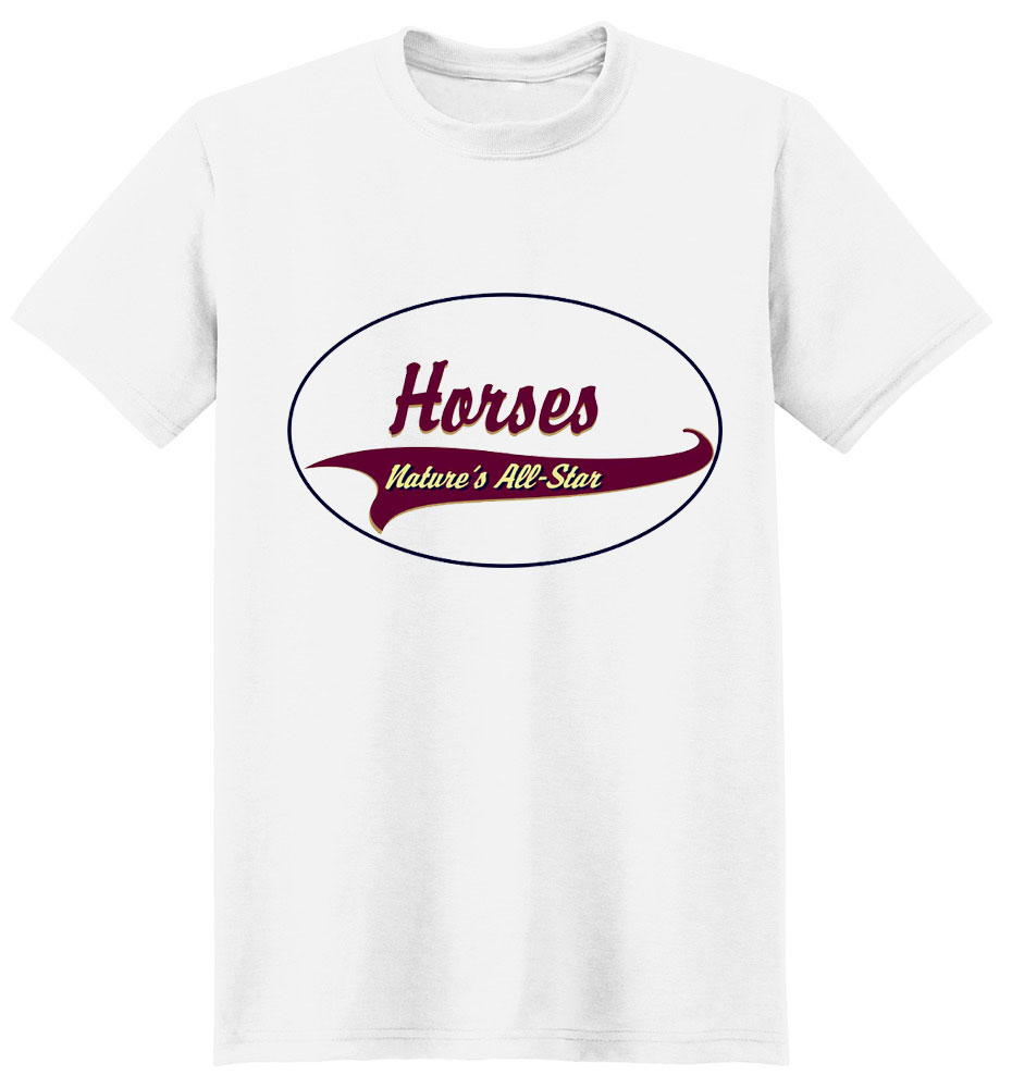 Horse T-Shirt - Breed of Champions