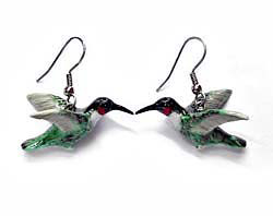Hummingbird Earrings True to Life