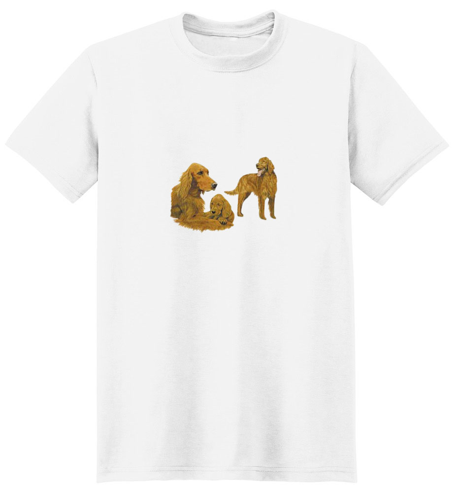 Irish Setter T-Shirt - Trio of Three
