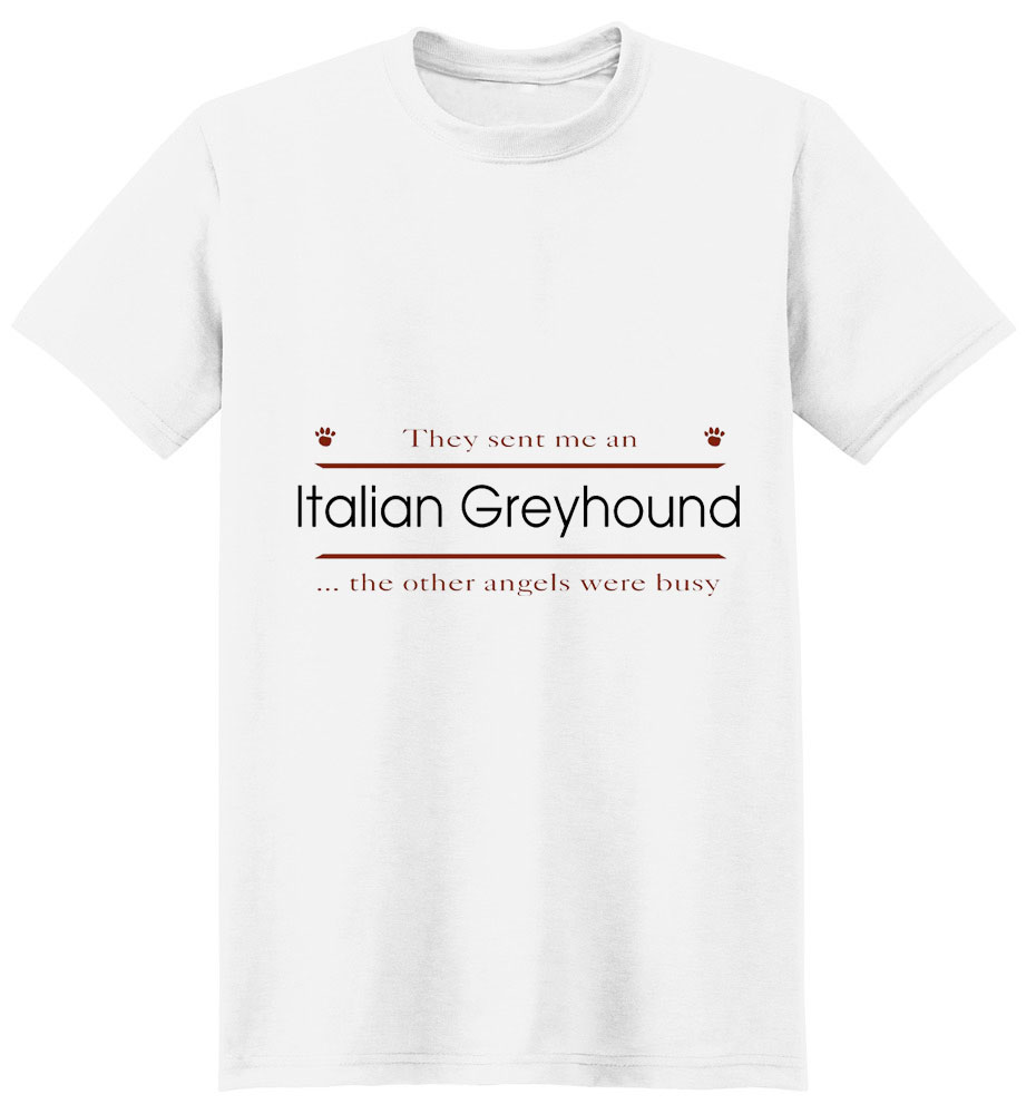 Italian Greyhound T-Shirt - Other Angels