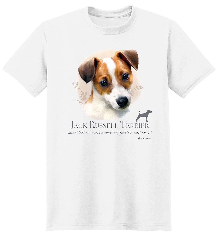 Jack Russell Terrier T Shirt by Howard Robinson