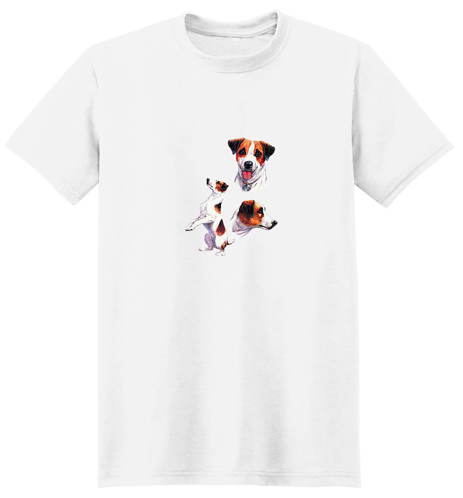 Jack Russell Terrier T-Shirt - Collage