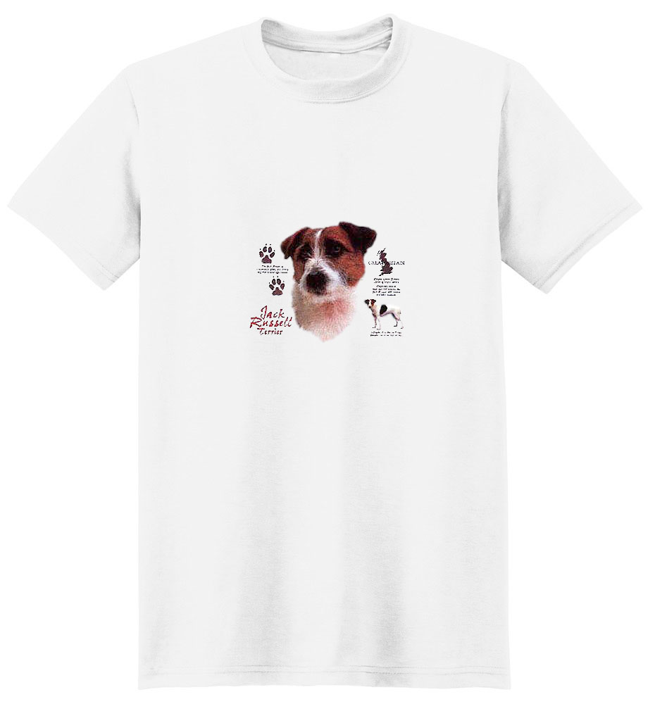 Jack Russell Terrier T-Shirt - History Collection
