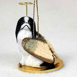 Japanese Chin Christmas Ornament Angel