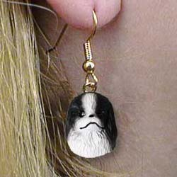 Japanese Chin Authentic Earrings