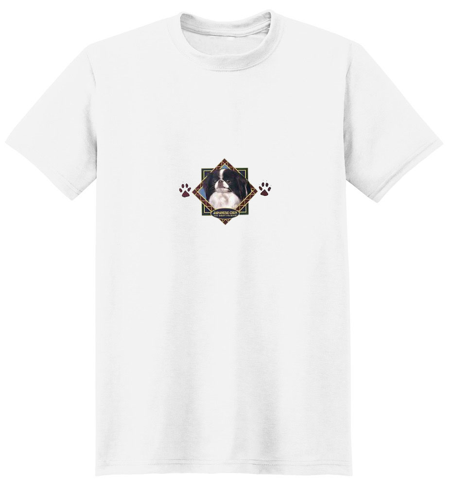Japanese Chin T-Shirt - Diamond Collection