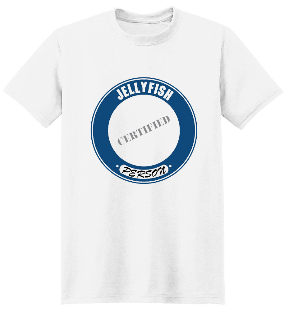 Jellyfish T-Shirt - Certified Person