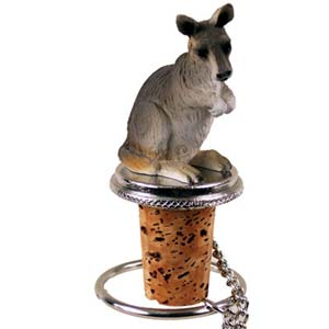 Kangaroo Bottle Stopper