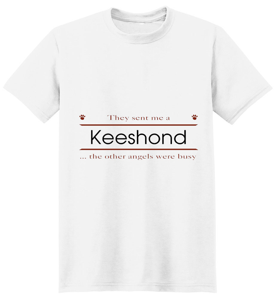 Keeshond T-Shirt - Other Angels