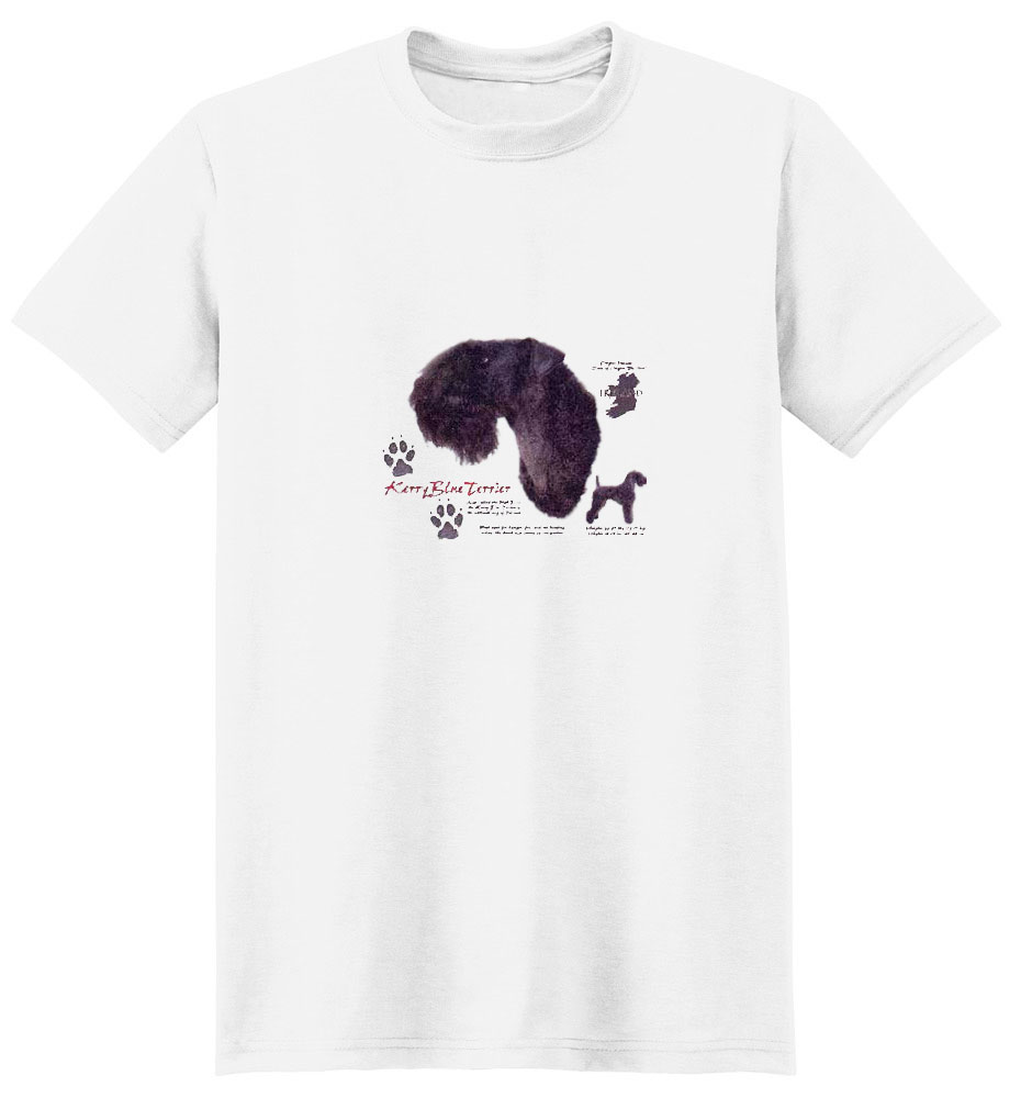 Kerry Blue Terrier T-Shirt - History Collection