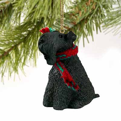 Kerry Blue Terrier Tiny One Christmas Ornament