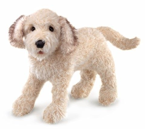 Labradoodle Hand Puppet 20