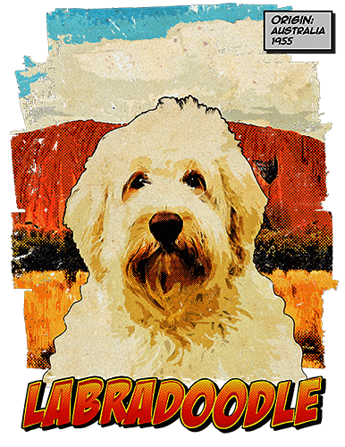 Labradoodle T-Shirt Ancestry