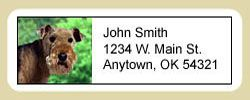 Lakeland Terrier Address Labels