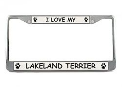 Lakeland Terrier License Plate Frame