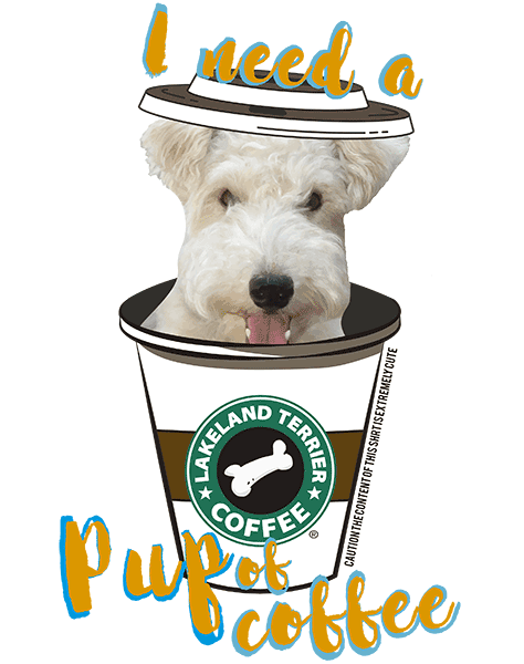 Lakeland Terrier T Shirt - Coffee Mug