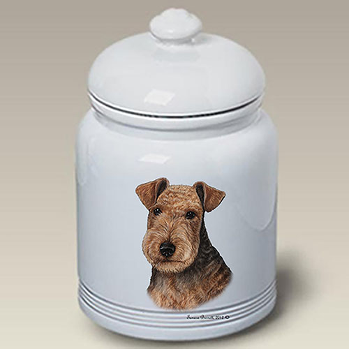 Lakeland Terrier Treat Jar