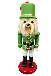 Lhasa Apso Ornament Nutcracker
