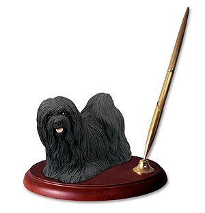 Lhasa Apso Pen Holder