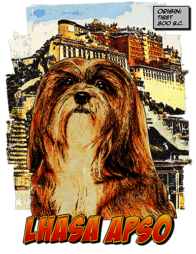 Lhasa Apso T-Shirt Ancestry