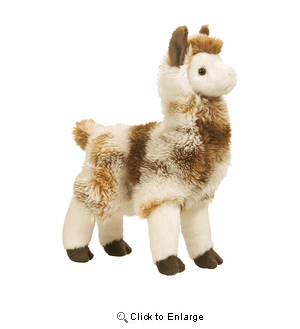 """Liam"" Llama Plush 11"" by Douglas toy"