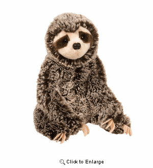 """""""Libby"""" the Sloth Plush 11"""" by Douglas Toy"""