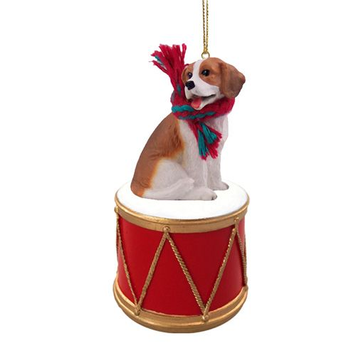 Little Drummer Beagle Christmas Ornament
