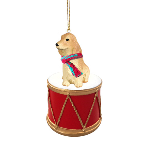 Little Drummer English Cocker Spaniel Christmas Ornament