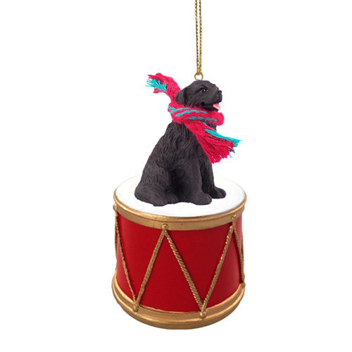 Little Drummer Newfoundland Christmas Ornament
