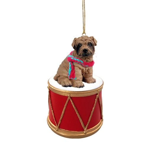 Little Drummer Shar Pei Christmas Ornament
