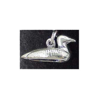Loon Sterling Silver Charm