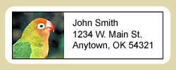 Lovebird Address Labels
