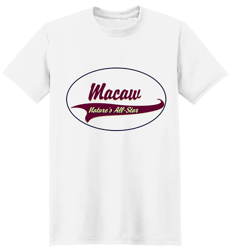 Macaw T-Shirt - Breed of Champions