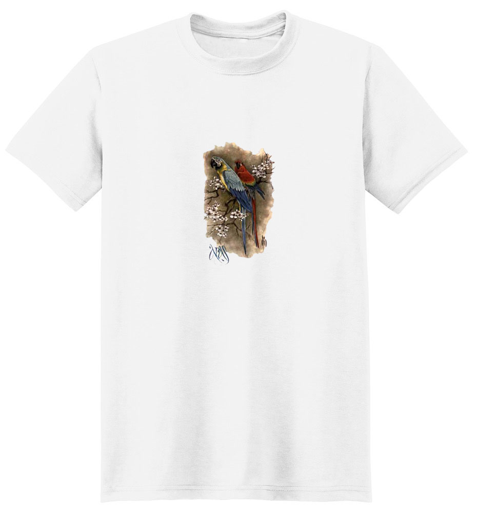 Macaws T-Shirt - Perched