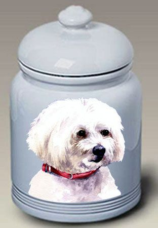 Maltese Cookie Jar