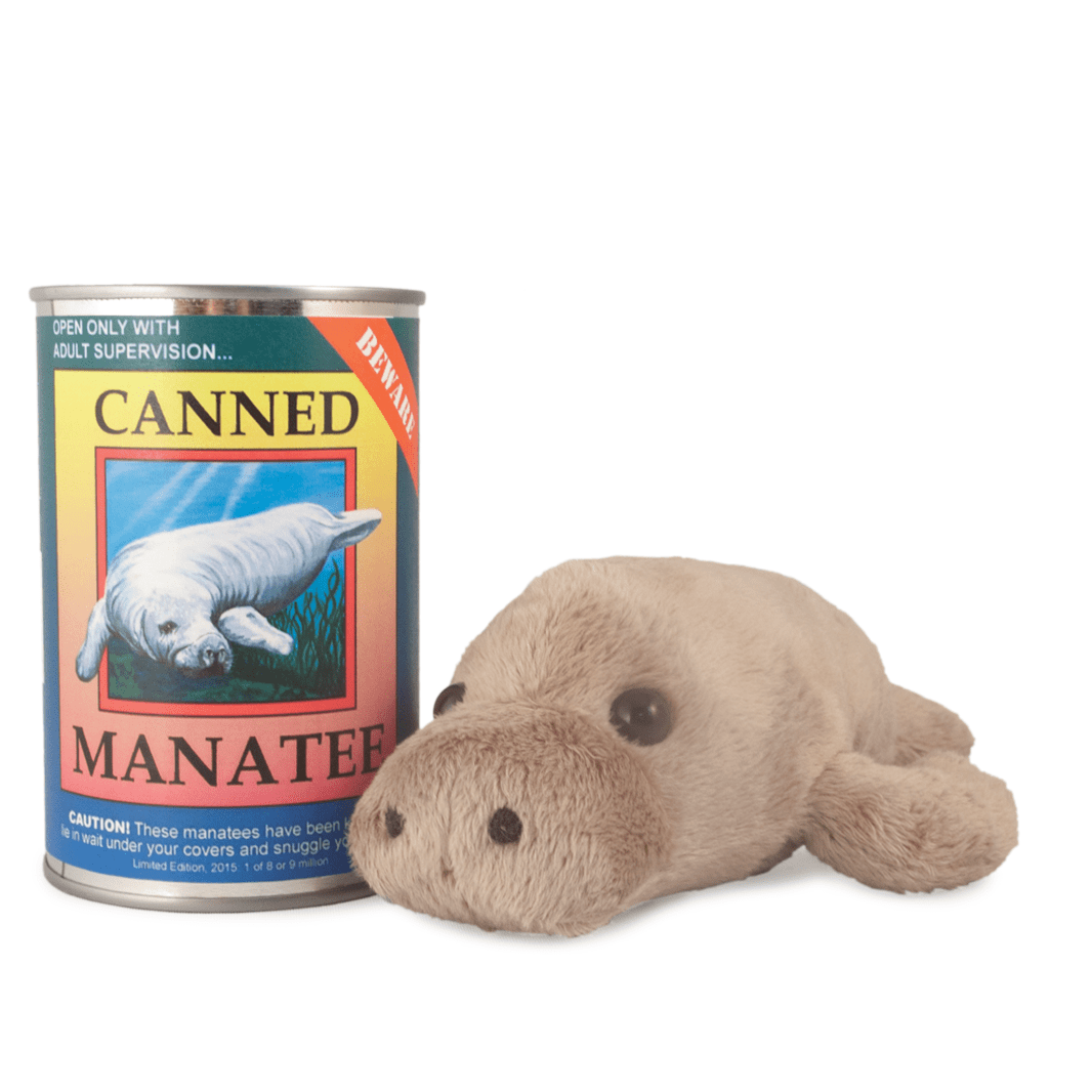 Manatee Canned Critter 6