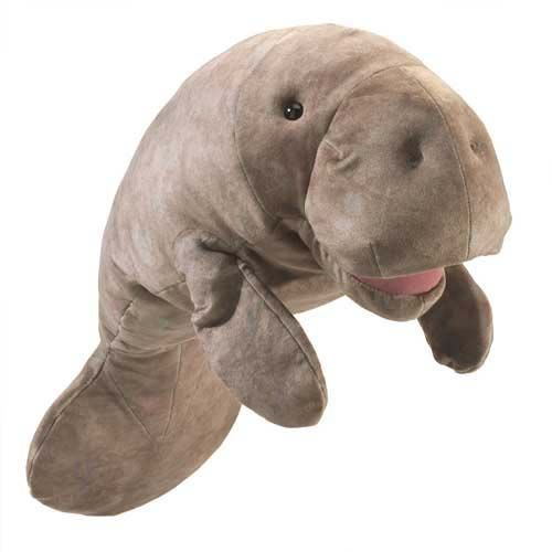 Manatee Puppet by Folkmanis